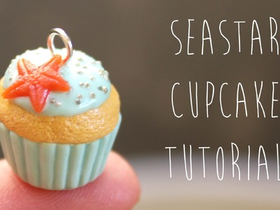 Polymer Clay: Sea Star Cupcake Charm