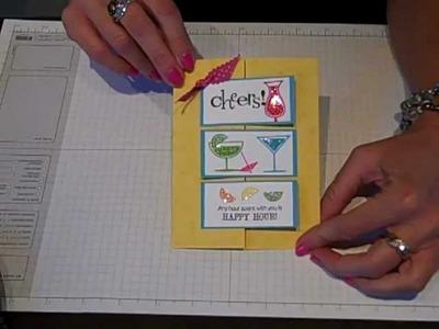 Simply Simple FLASH CARD Tri-Fun Fold by Connie Stewart