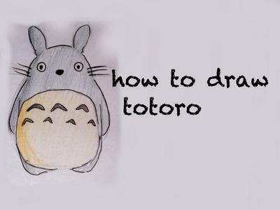 Speed drawing totoro ^^