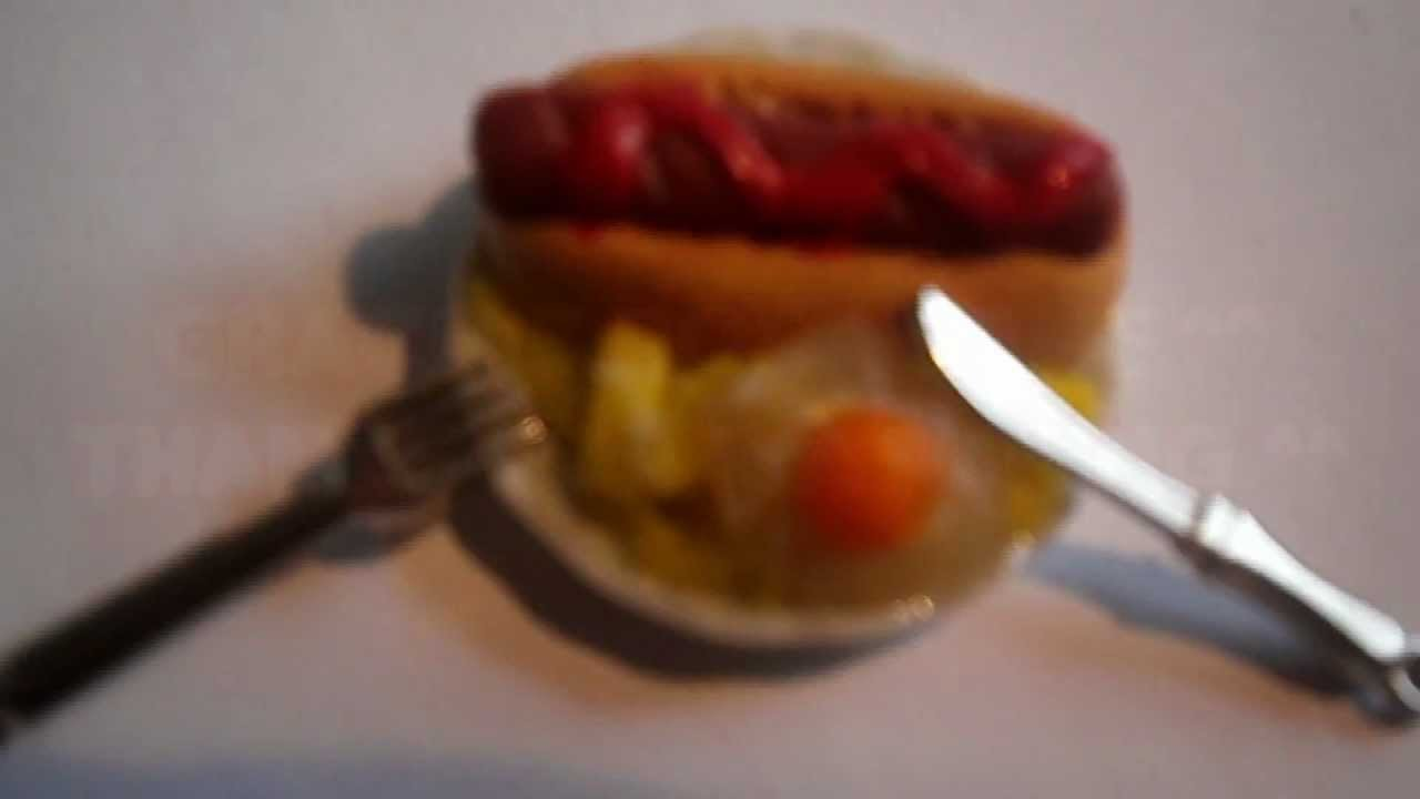 Tutorial: Perrito Caliente , Huevos y Patatas. Tutorial : Hot dog , Eggs and Fries.Chips