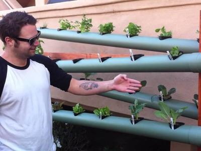 Vertical Earth Gardens client installation