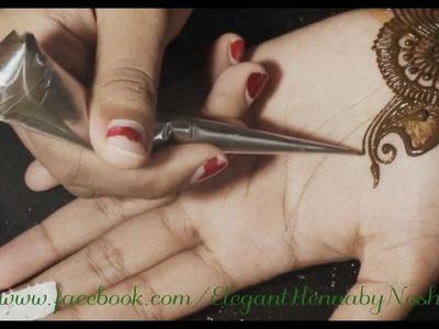 1. Henna. Mehndi Design by Elegant Henna