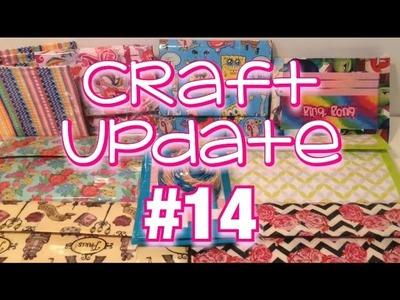 4 Women's wallets + Jamie Grace (Craft update #14)