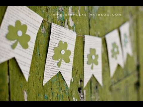 8 Cool DIY Wreaths And Buntings For St Patrick's Day