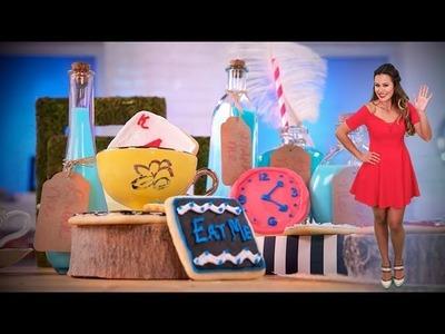 Alice in Wonderland's Cookies and Milk   Dessert Ideas   Just Add Sugar