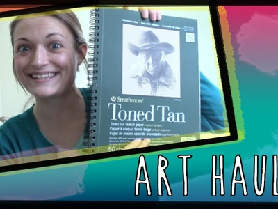 Art Supply Haul (sketchbooks, randoms, & polymer clay)