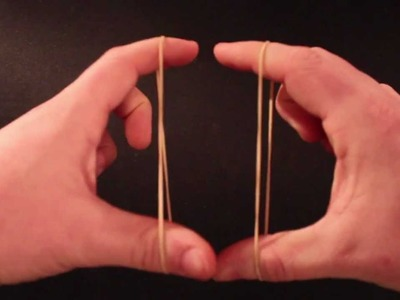 Best rubber band magic trick EVER!