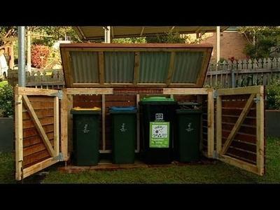 Better Homes and Gardens - DIY: bin storage