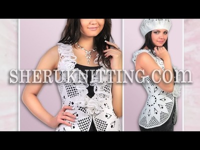 Crochet Vest Pattern Model 20