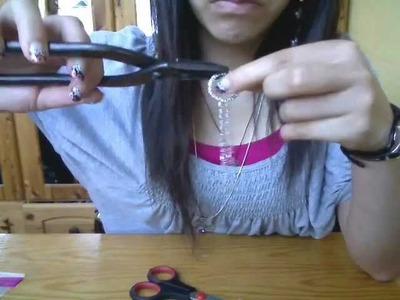 DIY Chain Bracelet Ring