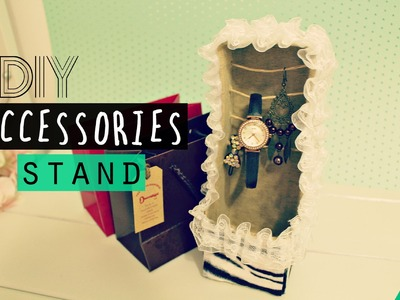 DIY Crafts: Tumblry Accessories Stand Made Using R