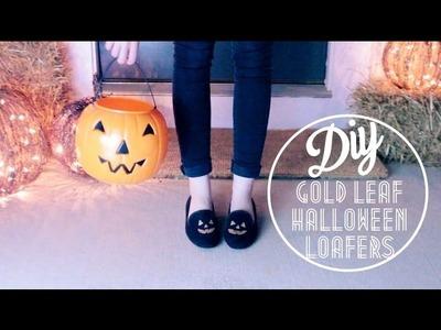 DIY Halloween Loafers. LaMadelynn