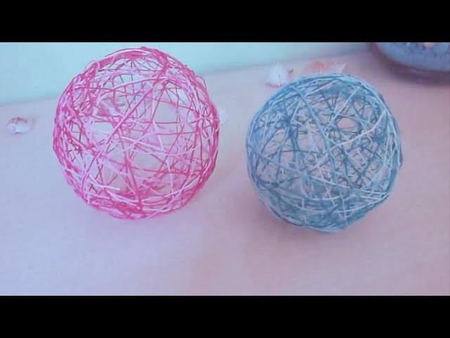 DIY | How to make light | Ball | Cotton ball
