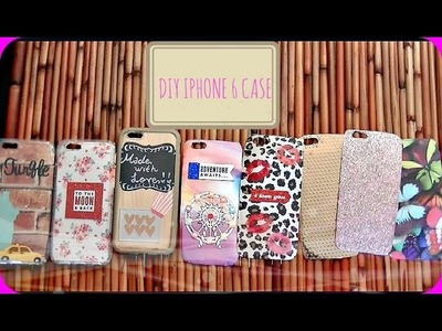 DIY iPhone Cases + iPhone 6 Case Collection! ♡
