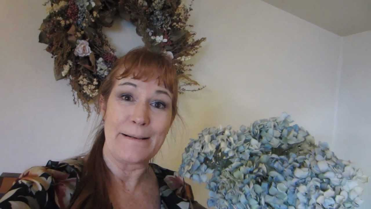 Drying Flowers from your Garden for Wreaths or Floral Arrangements