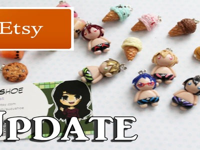 Etsy Shop Update - Polymer Clay Charms