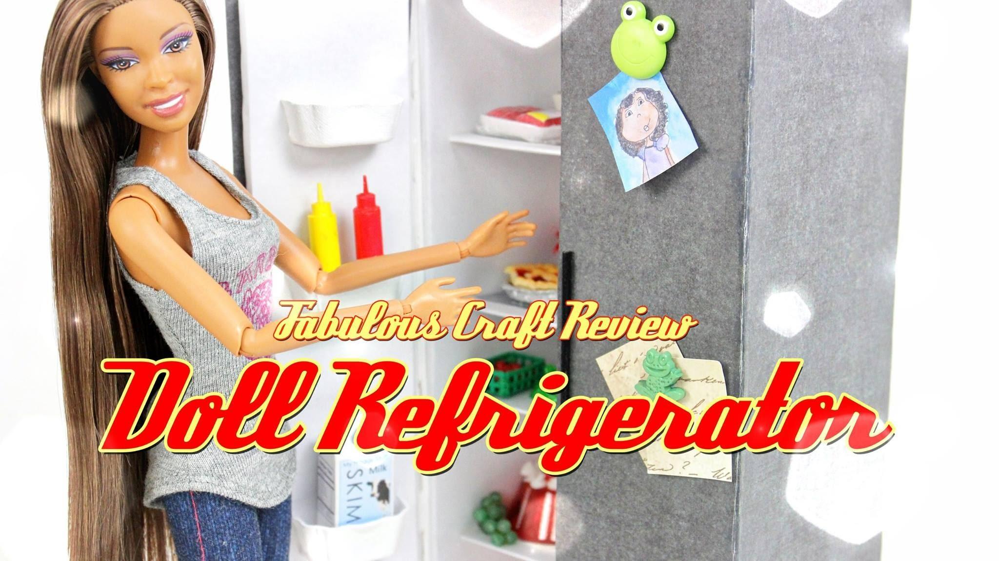 Fabulous Craft Review:  Doll Refrigerator