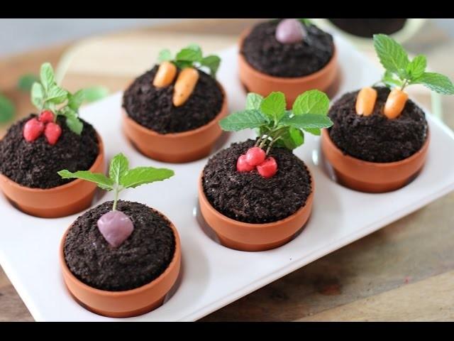 Gardening Cupcakes w. Oreos, Nutella & STARBURST | My Cupcake Addiction