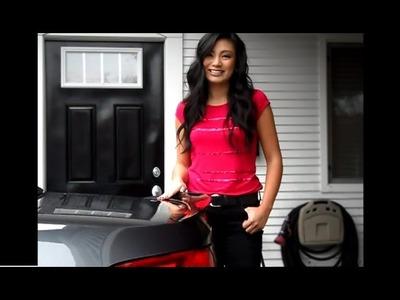How to Install a Rear Spoiler DIY BMW 3-Series Performance Spoiler E92. E93
