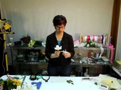 How to Make A Boutonniere Using Cymbidium Orchid Pick - Afloral.com Videos
