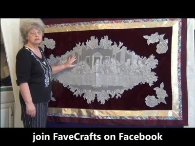 How to Make a Last Supper Wall Hanging
