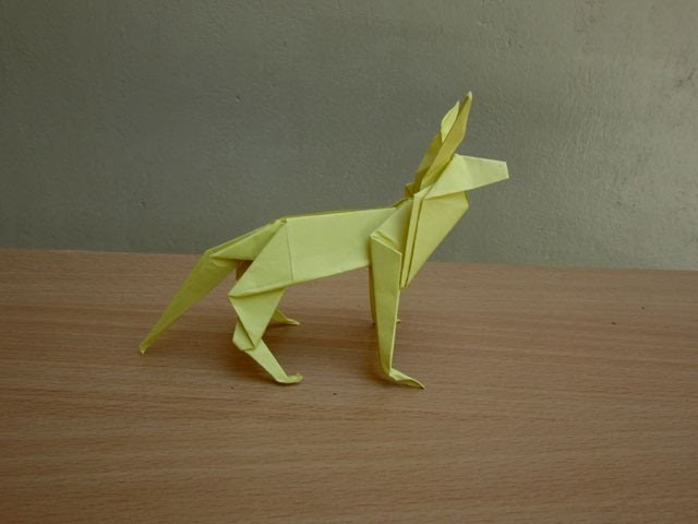 How to Make a Paper Shepherd Dog - Easy Tutorials