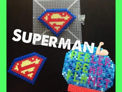 How To Make A Perler Bead Superman Logo!