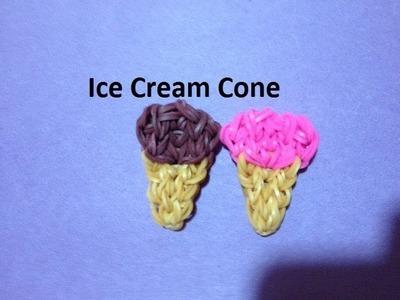 How to Make an Ice Cream Cone on the Rainbow Loom - Original Design