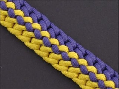 How to Make the Radiant Zipper Sinnet (Paracord) Bracelet by TIAT