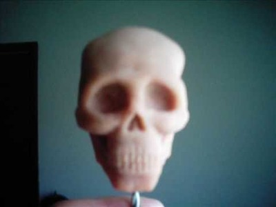 How to sculpt a skull with Super Sculpey