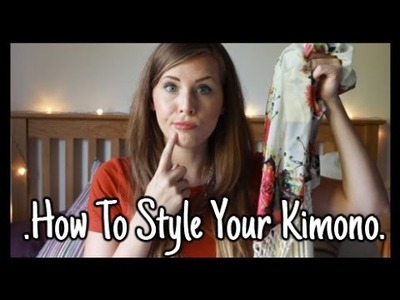 How To Style Your Kimono | Mini Haul | xameliax