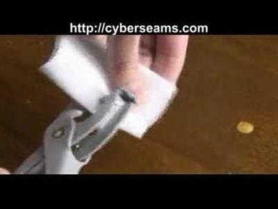 How to use Eyelet Pliers