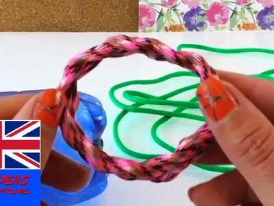 Infinity Paracord Bracelet tutorial - Englisch Do it yourself on how to make paracord bracelets
