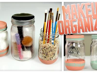 Makeup Organizer Jars - Do It, Gurl
