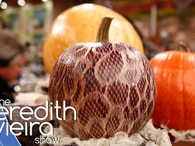 Martha Stewart's DIY Halloween | The Meredith Vieira Show