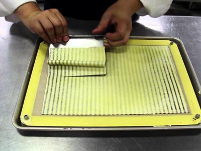 Modernist Cuisine - Striped Mushroom Omelet