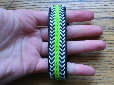 NEW Double Up Mashup Bracelet on the Rainbow Loom