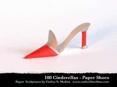 Paper Art - Paper Shoes