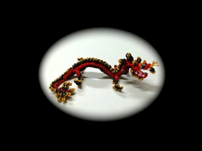 Part 3.5 Rainbow Loom Chinese Dragon Baby (1 Loom)