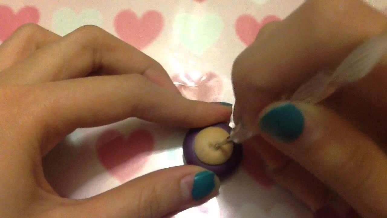 Polymer Clay Heart Cupcake Tutorial