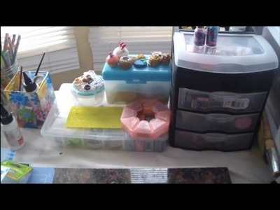 Polymer Clay Supplies + Storage!