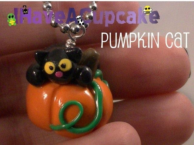 Pumpkin Cat Necklace