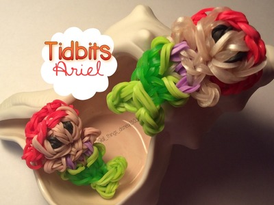 Rainbow Loom Ariel Charm   Tidbits Series