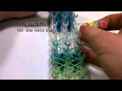 RainBow Loom Netherlands Rainbow Loom Criss Cross Over Braid Bracelet Requires Two Looms