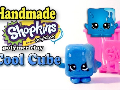 Season 1 Shopkins: How To Make Cool Cube Polymer Clay Tutorial!