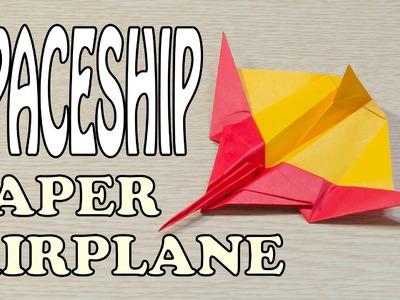 SpaceShip Paper Airplane Origami
