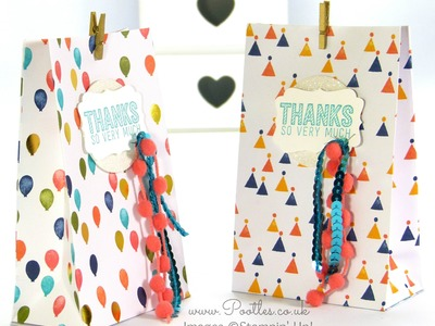 SpringWatch 2015 Fold Flat Birthday Bash Goodie Bag Tutorial