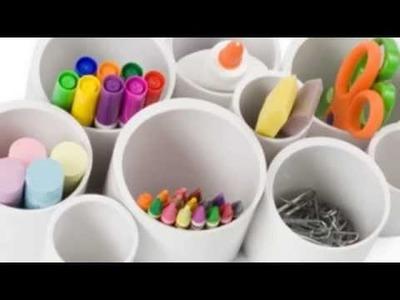 11 Easy To Make Desk Organizers