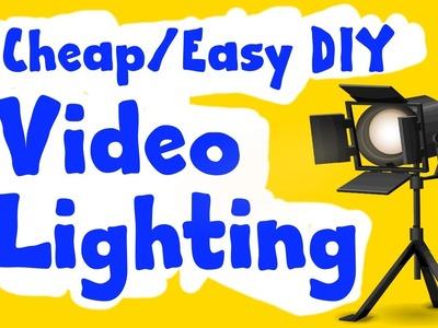 Cheap.Easy DIY Video Lighting