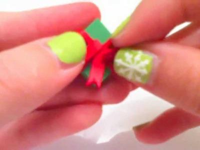 Christmas Clay Tutorial: Present